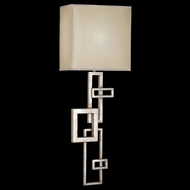 Fine Art Lamps 545150 Portobello Road 1-light Silver Modern Sconce