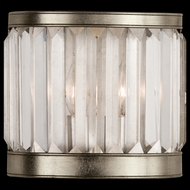 Fine Art Lamps 455450 Crystal Enchantment Wide 1-lamp Crystal Wall Lighting
