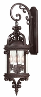 Troy BCD9121OBZ Pamplona Traditional Outdoor Wall Lantern - 6 inches wide