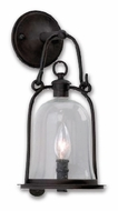 Troy B9461NB Owings Mill Outdoor Wall Sconce - 7.5 inches wide