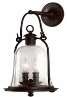 Troy B9462NB Owings Mill Outdoor Wall Sconce - 8.75 inches wide