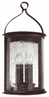 Troy B9473FBK Scarsdale Traditional Outdoor Wall Sconce - 12 inches wide