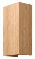 Fredrick Ramond 46200BAM Zen Contemporary Bamboo L.E.D. Wall Sconce Lighting
