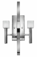 Fredrick Ramond 49292PCM Mondo 2-light Contemporary Halogen Chrome Wall Sconce