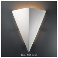 Justice Design 1140 Ambiance Really Big Triangle Wall Sconce