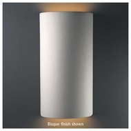 Justice Design 1165 Ambiance Really Big Cylinder Open Top Wall Sconce