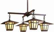 Arroyo Craftsman WCH-12/4 Westmoreland Craftsman 4 Light Indoor Chandelier