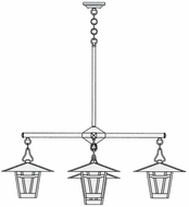 Arroyo Craftsman WCH-12/4-1 Westmoreland Craftsman 5 Light Indoor Chandelier