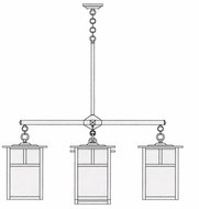 Arroyo Craftsman MCH-15/4-1 Mission Craftsman 5 Light Chandelier - 60.5 inches wide
