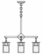 Arroyo Craftsman HCH-4L_4 Huntington Craftsman 4 Light Chandelier