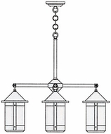 Arroyo Craftsman BCH-7/4 Berkeley 4 Light Chandelier - 28.375 inches wide