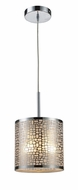 ELK 310411 Medina Contemporary Mini Pendant Light in Polished Stainless Steel