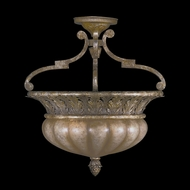 Fine Art Lamps 203745 A Midsummer Night's Dream 2-lamp Classic Semi-Flush Mount Ceiling Lighting