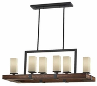 Feiss F25926AFAGW Madera Kitchen Island Light