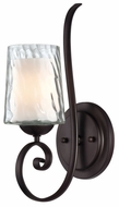 Quoizel ADS8701DC Adonis Single Lamp Glass Shade Wall Sconce