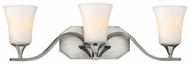 Hinkley 5363BN Brantley 3 Light Nickel Finish Transitional Metal Sconce