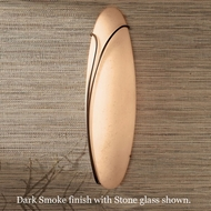 Hubbardton Forge 20-6032l Oval Reeds Wall Sconce, Left