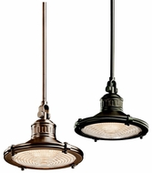 Kichler 42436 Sayre Small Modern 10 Inch Diameter 1 Lamp Pendant Lighting