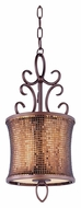 Maxim 94160SBUB Alexander Traditional Umber Bronze 9 Inch Diameter Mini Pendant Light Fixture