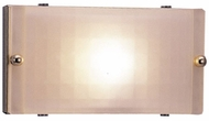 PLC 1801 Gem Acid Frost Halogen Bathroom Light