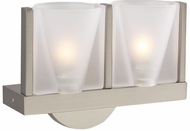 PLC 21115-SN Bilbao Wall Sconce in Satin Nickel