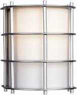 Philips F8490-41 Hollywood Hills Contemporary Outdoor Silver Wall Fixture - 6.5 inches tall