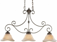 Feiss F1836-3-CB Tuscan Villa Kitchen Island Lighting Fixture