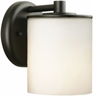 Philips F8499-19 Midnight Contemporary Black Outdoor Wall Fixture - 4.5 inches wide