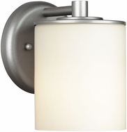Philips F8499-41 Midnight Contemporary Silver Outdoor Wall Fixture - 4.5 inches wide