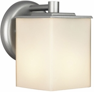 Philips F8498-41 Midnight Contemporary Silver Outdoor Wall Fixture - 5 inches wide