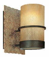 Troy B1841BB Bamboo Single Light Wall Sconce