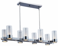 Maxim 23079CLFTPC Silo Modern 8-light Kitchen Island Lighting