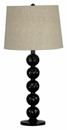 Kenroy Home 21052DBZ Twilight 29 Inch Tall Dark Bronze Bed Lamp