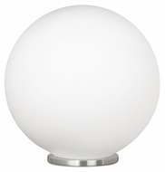 EGLO 85265A Rondo 9 Inch Diameter Glass Ball Table Lamp Lighting - Medium