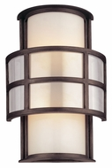 Troy B2732 Discus Graphite Medium 14 Inch Tall Wall Lamp