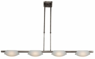 Access 63958 Nido Contemporary 4 Light Halogen Kitchen Island Fixture