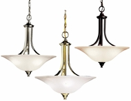 Kichler 3502 Dover 20 Inch Diameter 3 Lamp Drop Lighting Fixture