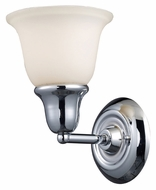 ELK 67010-1 Berwick Transitional 8 Inch Tall Polished Chrome Lamp Sconce