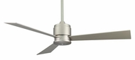 Fanimation Fans FP4620SN Zonix Contemporary Ceiling Fan with Satin Nickel Blades