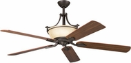 Kichler 300011-OZ Olympia Olde Bronze Modern 6-Light Ceiling Fan