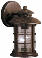 Kichler 9759RST Rustic 10 Inch Fluorescent Outdoor Wall Lantern
