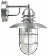Lite Source LS1468-STS Lamppost I Outdoor Light Wall Fixture in Stainless Steel