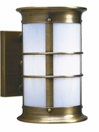 Arroyo Craftsman NS-14LNRW Newport Nautical Outdoor Long Body Wall Sconce - 14.625 inches tall