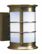 Arroyo Craftsman NS-14NRW Newport Nautical Outdoor Wall Sconce - 12.125 inches tall