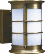 Arroyo Craftsman NS-19NRW Newport Nautical Outdoor Wall Sconce - 17.25 inches tall