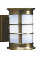 Arroyo Craftsman NS-9NRW Newport Nautical Outdoor Wall Sconce - 8.375 inches tall