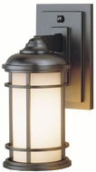 Feiss OL2200-BB Lighthouse 1-light 11 inch Exterior Wall Light in Burnished Bronze