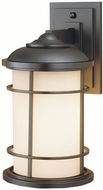 Feiss OL2201-BB Lighthouse 1-light 14 inch Exterior Wall Lamp in Burnished Bronze