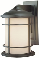 Feiss OL2202-BB Lighthouse 1-light 15 inch Outside Wall Light in Burnished Bronze