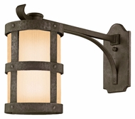 Troy BF3315 Barbosa Fluorescent Lighting Extended Arm Bronze Nautical Exterior Wall Light Fixture